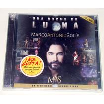 Marco Antonio Solis Una Noche De Luna Cd Nuevo Cerrado