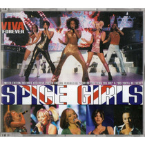 Spice Girls Viva Forever Limited Single Cd 3 Tracks + Poster