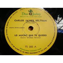 Carlos Javier Beltran Lo Mucho Que Te Quiero - Simple Vinilo