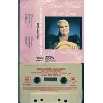 Maria Martha Serra Lima 10 Años Contigo Cassette Nuevo