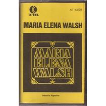 Maria Elena Walsh Cassette Original 1982 Retro