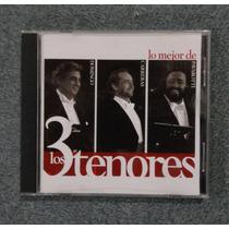 Cd Lo Mejor De Los 3 Tenores Pavarotti Domingo Carreras