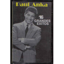 Paul Anka 16 Grandes Exitos Cassette 1989