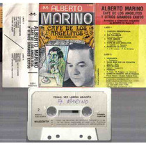 Alberto Marino Grandes Exitos Cafe De Los Angelitos Cassette