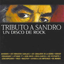 Tributo A Sandro Cd Divididos Bersuit Virus Attaque Molotov