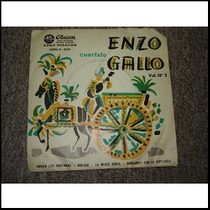 Cuarteto Enzo Gallo Ep 7 Vinilo Y Simple
