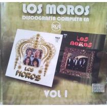 Los Moros Sus 2 Primeros Discos En 1 Cd Original De Coleccio