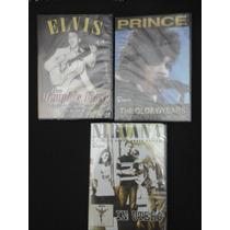 Elvis Presley. Prince Nirvana Lote 3 Dvd Originales Nuevos