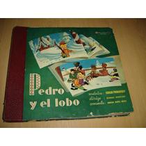 Pedro Y El Lobo Narciso Ibañez Menta Album 3 Discos Infantil