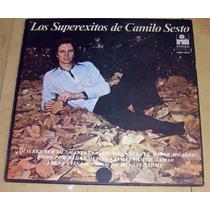 Camilo Sesto Los Superexitos Lp Argentino
