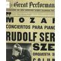 Mozart Conciertos Piano Rudolf Serkin Szell Disco Lp Vinilo