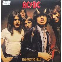 Ac/dc Highway To Hell Vinilo Lp Imp 180gr Nuevo