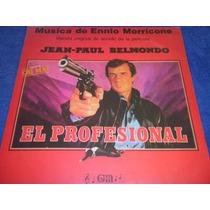 El Profesional Ennio Morricone - Belmondo Soundtrack Vinilo