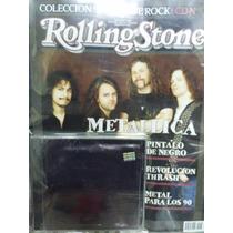 Metallica Black Album - Cd Original + Revista Rolling Stone