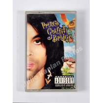 Prince Grafitti Bridge-cassette Made Usa Funk-rock Impecable
