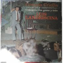Luis Landriscina, Contata Criolla 3er Mov., Disco Vinilo