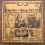 New York To Chicago (1923-28) - Vinilo Lp Usa