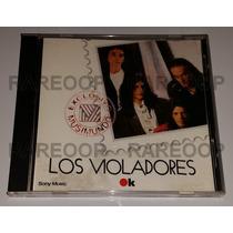 Los Violadores (cd) Compilado Ok Musimundo Muy Buen Estado