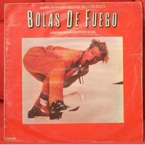 Lp - Jerry Lee Lewis - Banda Sonora De Bolas De Fuego - Vg