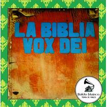 Disco Vinilo Vox Dei La Biblia Doble Incluye Carta Original
