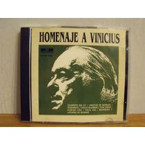 Homenaje A Vinicius - Interpretes Varios - Cd