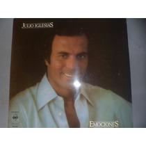 Vinilo Julio Iglesias Nuevo Año 1978 Emociones 10 Puntos