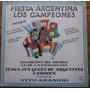 Mundial 78 Disco Lp Fiesta Argentina Los Campeones Vinilo