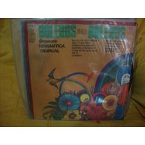 Vinilo Orquesta Romantica Tropical Boleros Solo Boleros P3