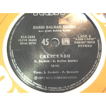 Dario Baldan Bembo Single Vinilo Lp