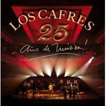 Los Cafres 25 Años De Musica 2 Cd + Dvd Original Clickmusics