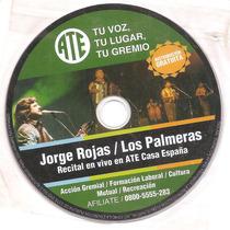 Los Palmeras. Jorge Rojas. En Vivo. Sin Tapa.