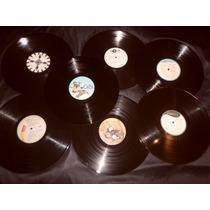 Discos Nuevos De Vinilo P/ Decoración O Artesanías 20 X $85