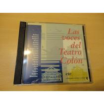 Las Voces Del Teatro Colon- Ediciones Teatro Colon-año 1994