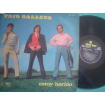 Artesonido: Trio Galleta Lp Estoy Herido Argentina Disco