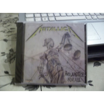 Metallica (cd Nuevo) And Justice For All