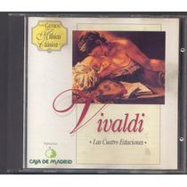 Los Genios De La Musica Clasica - Vivaldi Cd. Original