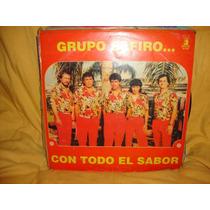Vinilo Grupo Safiro Con Todo El Sabor