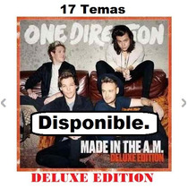 Cd Deluxe - One Direction Made In The A.m.- Cd. Original.-