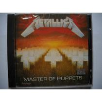 Metallica Master Of Puppets Cd +metallica Pantera Slayer