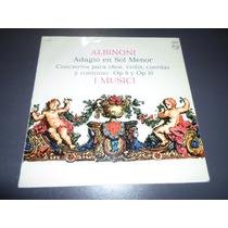 Albinoni I Musici Adagio En Sol Menor * Disco De Vinilo