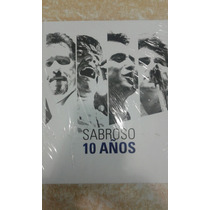 Sabroso 10 Años 3 Cd + 1 Dvd Set
