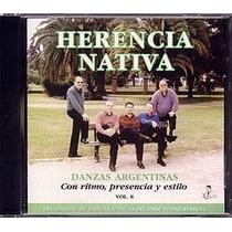 Danzas Argentinas Vol. 8 - Conjunto Herencia Nativa - Cd