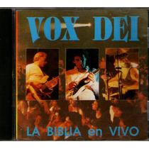 Vox Dei. La Biblia En Vivo. Tripoli. Cd