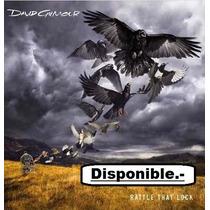 Cd David Gilmour - Rattle That Lock. Nuevo / Cerrado.-