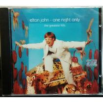 Elton John One Night Only The Greatest Hits Cd Nuevo Oca Mp