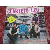 Disco De Cuarteto Leo Vol. 49 Simplemente ...el Mejor