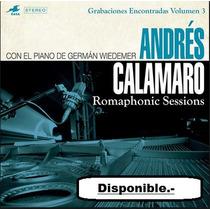Cd Andres Calamaro - Nuevo Albun 2016 Romaphonic Session .-