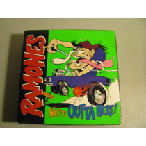 Ramones Box Set We Re Outta Here ! Caja + Cd + Vhs Motorhead