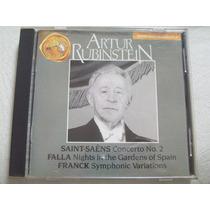 Arthur Rubinstein Saint Saens Falla Franck Cd Rca