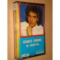 Franco Simone En Argentina Impecable De Coleccion